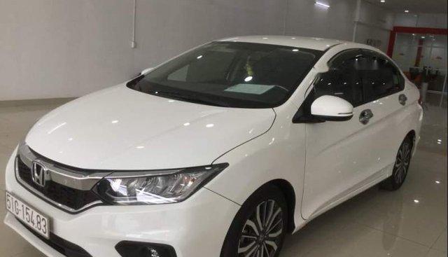 Bán Honda City Top đời 2018, màu trắng, giá 585tr
