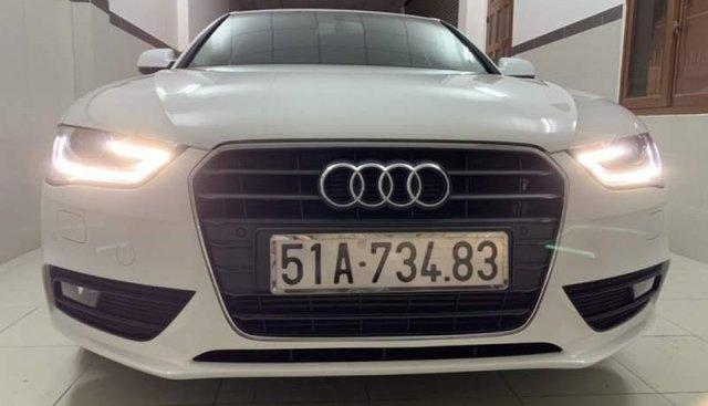 Bán xe Audi A4 còn đẹp mới, chạy 19.500 km, màu trắng