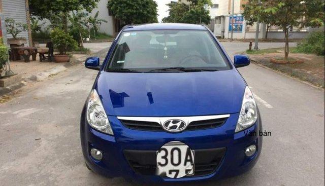 Bán Hyundai Grand i10 đời 2009, màu xanh lam, nhập khẩu, số tự động