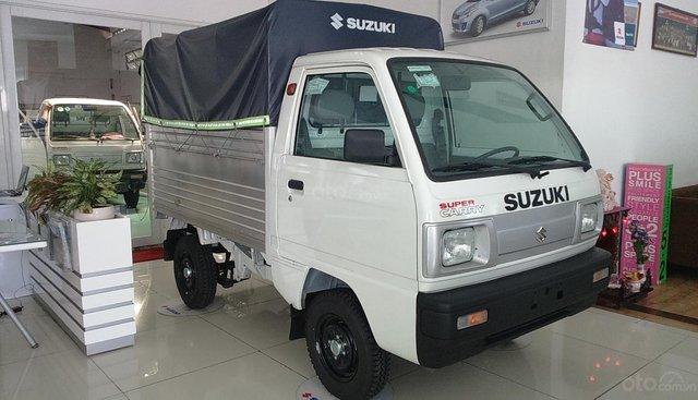 Bán Suzuki Carry Truck 500kg - Thùng bạt dài 1m9, chuẩn Euro4 - Giao ngay