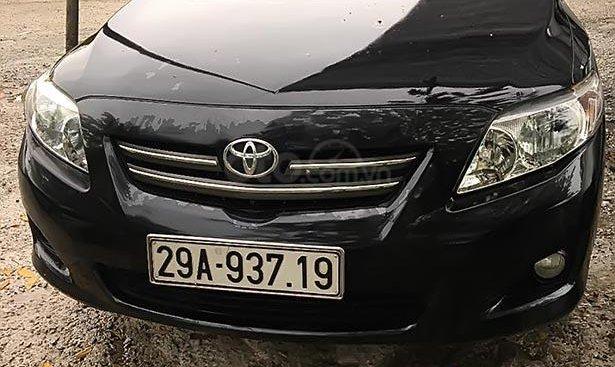 Bán Toyota Corolla altis 1.8 AT năm sản xuất 2010, màu đen
