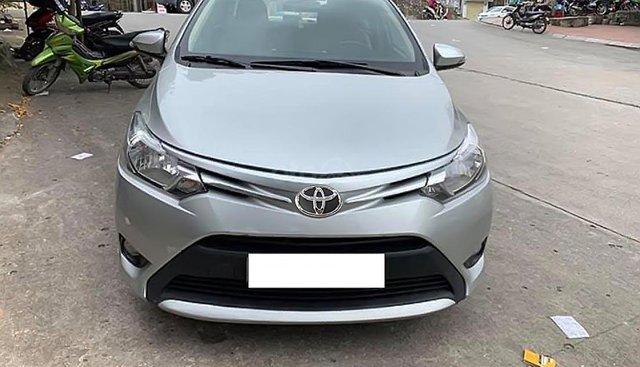 Bán Toyota Vios năm 2016, màu bạc
