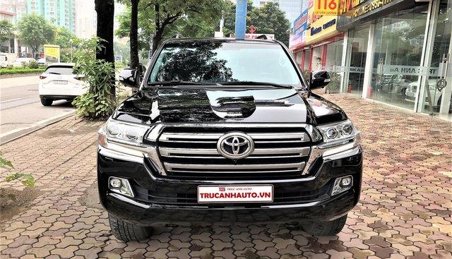 Bán xe Toyota Land Cruiser VX 4.6 V8 AT năm sản xuất 2017, màu đen, xe nhập