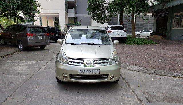 Cần bán Nissan Grand livina 1.8AT 2011, màu vàng, giá chỉ 350 triệu