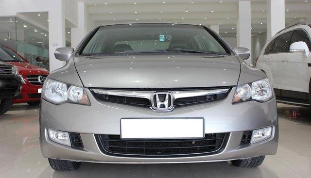 Bán Honda Civic 2008, màu bạc
