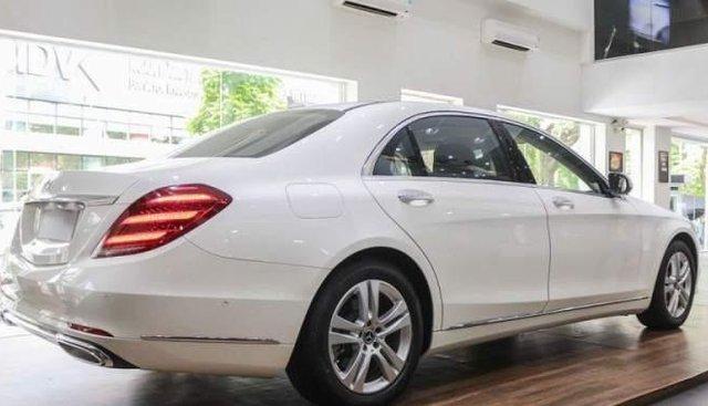 Bán xe Mercedes S450 sản xuất 2018, màu trắng