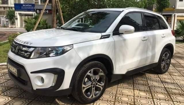 Bán ô tô Suzuki Vitara năm sản xuất 2016, màu trắng, giá 685tr