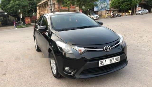 Bán ô tô Toyota Vios đời 2017, màu đen, giá chỉ 468 triệu