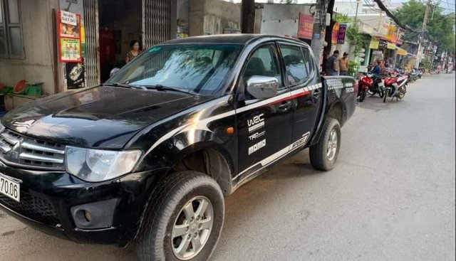 Bán xe Mitsubishi Triton 2009, màu đen, xe nhập chính chủ