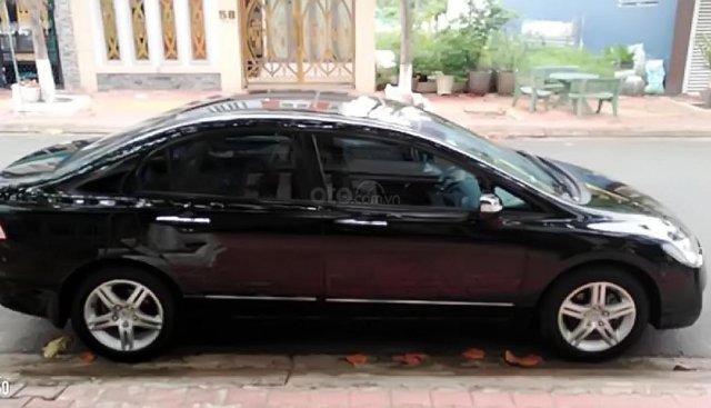 Bán ô tô Honda Civic 2.0AT sản xuất 2008, màu đen