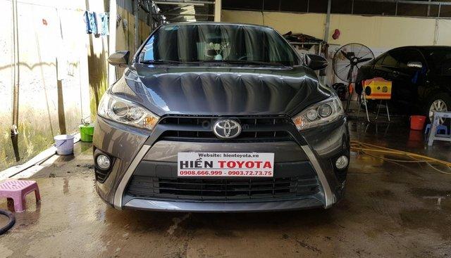 Cần bán Toyota Yaris 1.5G đời 2015, màu xám