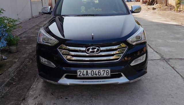 Bán Hyundai Santa Fe sản xuất 2013, màu đen, xe nhập, giá chỉ 895 triệu