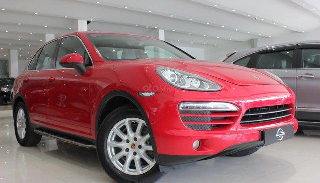 Cần bán Porsche Cayenne đời 2013, màu đỏ, nhập khẩu