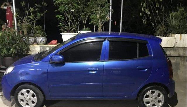 Gia đình bán xe Kia Morning năm 2012, màu xanh lam
