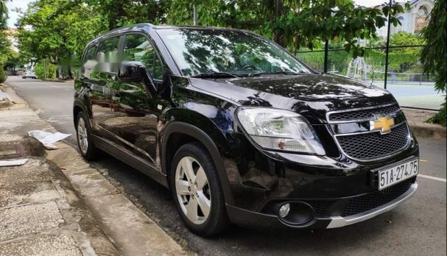 Bán Chevrolet Orlando sản xuất 2011, màu đen số tự động giá cạnh tranh