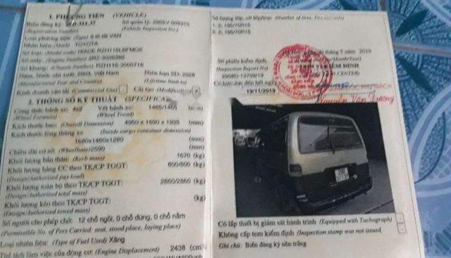 Bán ô tô Toyota Hiace đời 2003, nhập khẩu nguyên chiếc