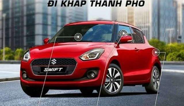 Bán Suzuki Swift 1.2 AT sản xuất 2019, màu đỏ, nhập khẩu nguyên chiếc, mới 100%