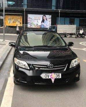 Xe Toyota Corolla altis AT đời 2009, màu đen