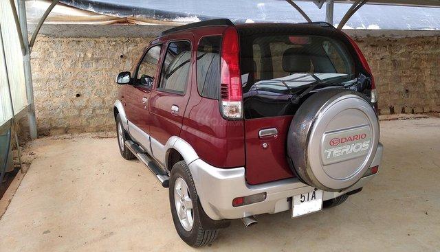 Chính chủ cần bán Daihatsu Terios năm 2007, màu đỏ. Bản số TP