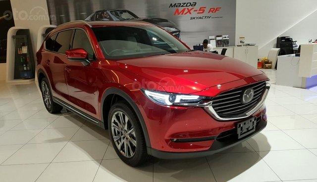 Bán Mazda CX8 2019, màu đỏ, giá chỉ từ 1 tỷ 199 triệu hot ưu đãi tháng 6 lên đến 50 triệu