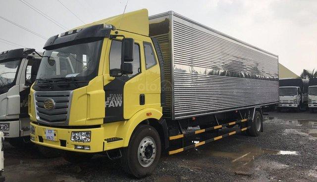 Bán xe Faw 7 tấn thùng dài 9m7, màu vàng, đời 2019