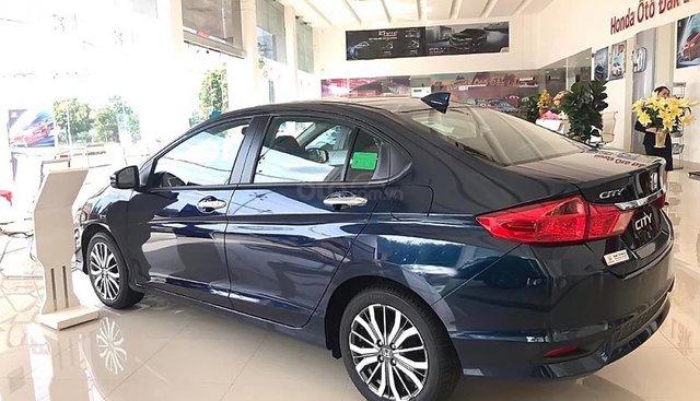 Bán xe Honda City 1.5TOP năm 2019, màu xanh lam
