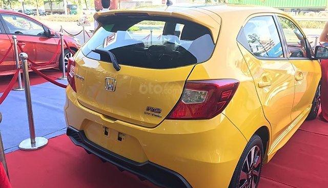 Bán Honda Brio sản xuất 2019, màu vàng, xe nhập, 448tr