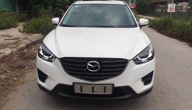 Bán Mazda CX 5 facelift năm sản xuất 2016, màu trắng như mới