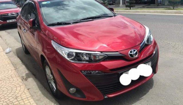 Bán Toyota Vios bản G số tự động, màu đỏ, chạy 2300 km