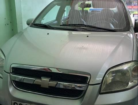 Cần bán Chevrolet Aveo đời 2012, màu bạc, giá 220tr