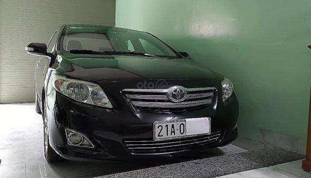Cần bán Toyota Corolla altis 1.8G-AT 2008, màu đen chính chủ
