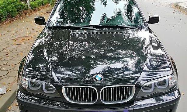 Bán ô tô BMW 3 Series 318i 2004, màu đen, xe nhập chính chủ