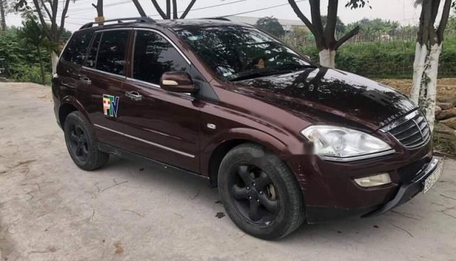 Bán Ssangyong Kyron LV7 sản xuất 2007, màu nâu, nhập khẩu