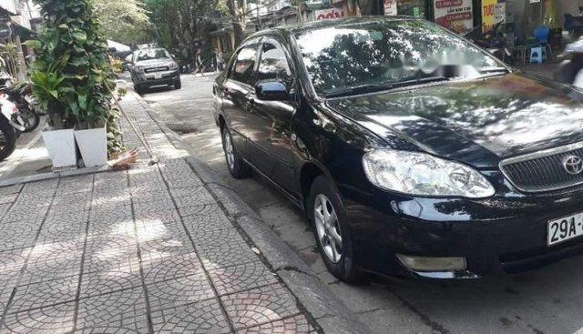 Bán ô tô Toyota Corolla altis 1.8MT sản xuất năm 2003, màu đen, chất lượng xe yên tâm