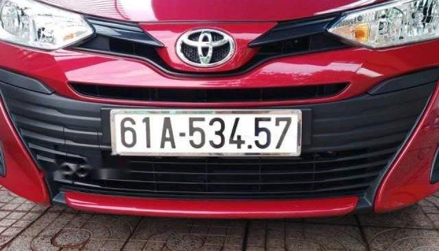 Bán Toyota Vios đời 2018, màu đỏ, xe không một lỗi