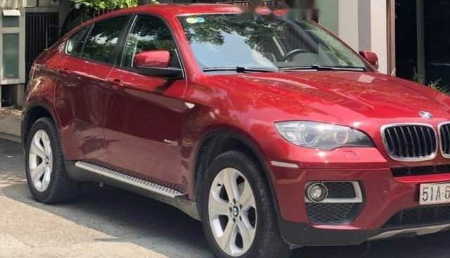 Bán BMW X6 Xdrive35i 2013 màu đỏ, xe chạy kiểng trong thành phố