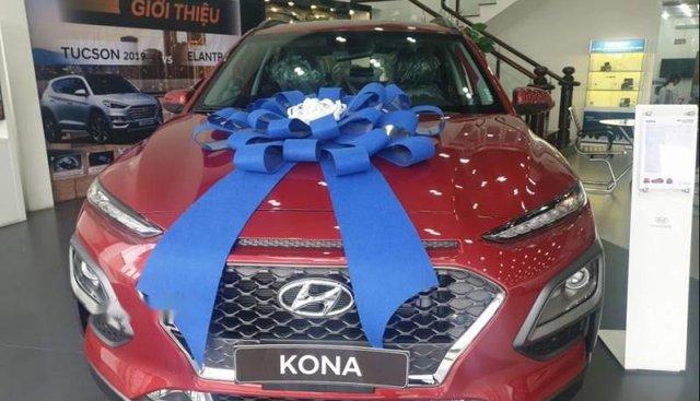 Bán Hyundai Kona Turbo 2019, màu đỏ, xe có sẵn giao ngay