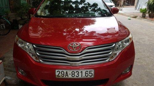 Bán xe Toyota Venza 2.7 AT đời 2010, màu đỏ, nhập khẩu giá cạnh tranh