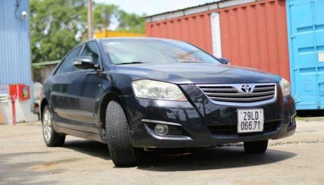 Bán gấp Toyota Camry 3.5Q V6 năm 2008, màu đen, nhập khẩu