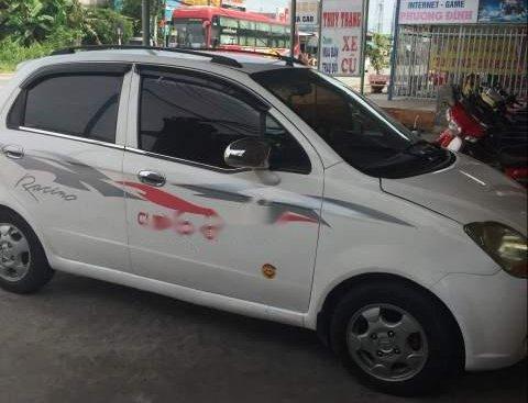 Bán Chevrolet Spark 2009, màu trắng, nhập khẩu, xe đẹp, máy êm, tiết kiệm xăng