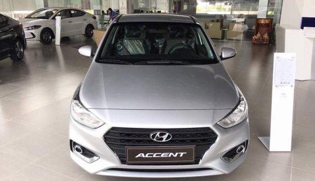 Bán Hyundai Accent đời 2019, màu bạc, giá cạnh tranh