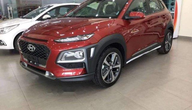 Bán xe Hyundai Kona sản xuất năm 2019, màu đỏ