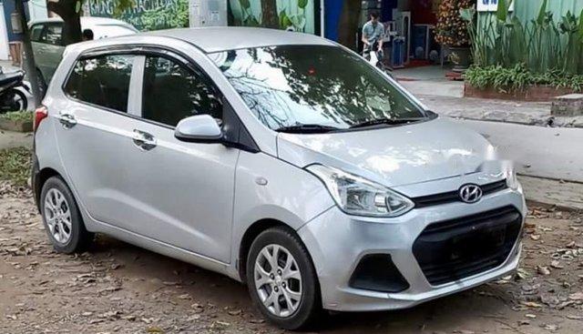 Xe Hyundai Grand i10 MT năm sản xuất 2014, màu bạc, nhập khẩu