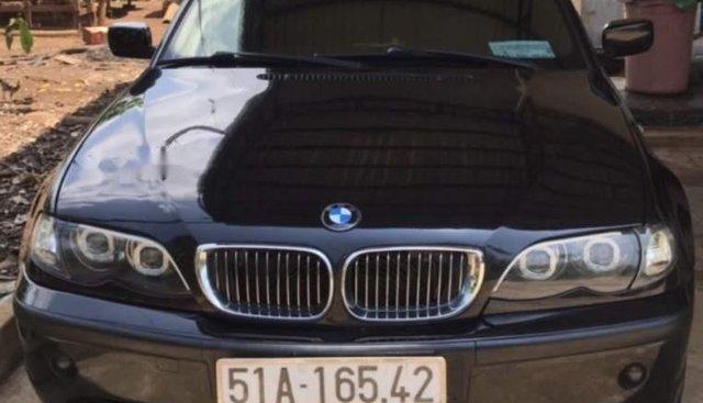 Bán BMW 3 Series AT đời 2004, màu đen, nhập khẩu nguyên chiếc