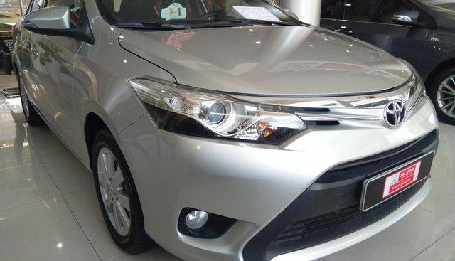 Bán Vios G 2014 màu bạc, xe có bảo hành, giá cả còn thương lượng