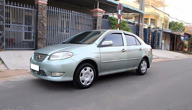 Cần bán Toyota Vios G đời 2003, màu xanh lam