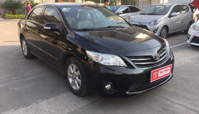 Bán xe Toyota Corolla altis sản xuất 2013, màu đen
