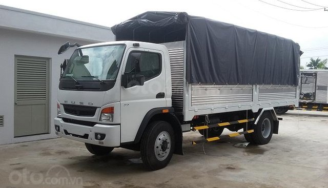 Thanh lý lô 5 xe tải mui bạt 7 tấn Fuso FI 2016 mới 99%, giá thương lượng