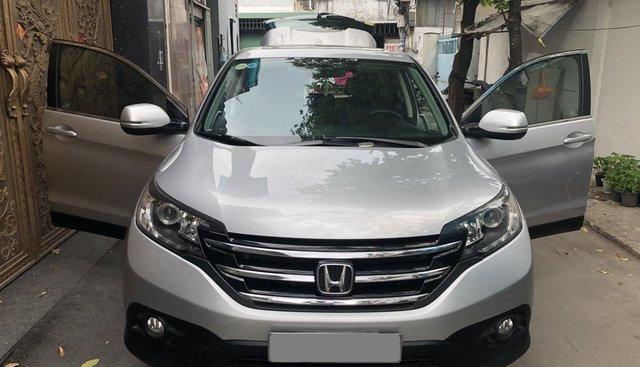 Bán Honda CRV 2015 tự động, màu bạc, xe BSTP chính chủ