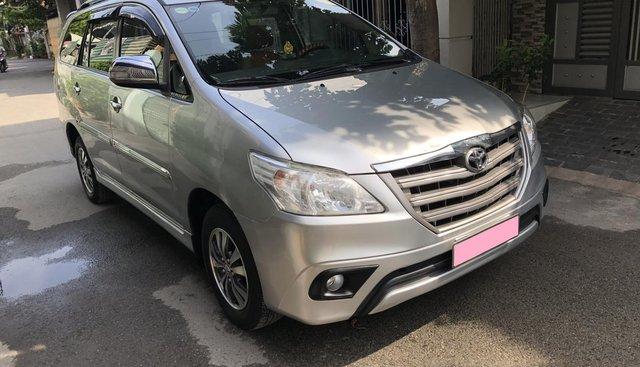 Cần bán xe Toyota Innova 2.0E số sàn 2016, màu bạc, BSTP